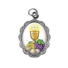 Imagem - Medalha de Alumínio - Eucaristia - 19575933-20