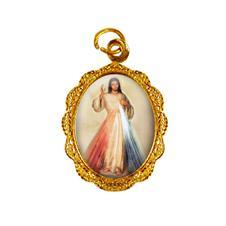 Medalha de alumínio - Jesus Misericordioso - Mod. 1