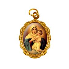 Imagem - Medalha de alumínio - Mãe Rainha - 14889815-19