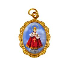 Imagem - Medalha de Alumínio - Menino Jesus de Praga  cód: 12169288-19