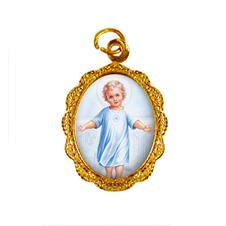 Medalha de alumínio - Menino Jesus