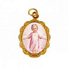 Medalha de Alumínio - Menino Jesus - Mod. 02