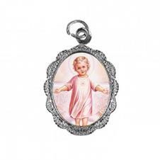 Imagem - Medalha de Alumínio - Menino Jesus - Mod. 02 cód: 18957786-20