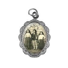 Imagem - Medalha de alumínio - Meninos de Fátima cód: 14827259-20