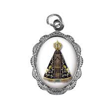 Medalha de alumínio - Nossa Senhora Aparecida - Mod. 2