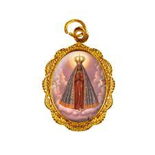 Medalha de alumínio - Nossa Senhora Aparecida - Mod. 1
