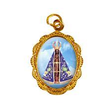 Imagem - Medalha de alumínio - Nossa Senhora Aparecida - Mod. 3 cód: MAAP-06