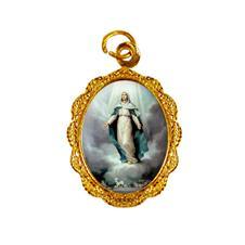 Medalha de alumínio - Nossa Senhora da Assunção - Mod. 2