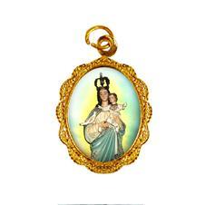 Medalha de alumínio - Nossa Senhora da Boa Esperança