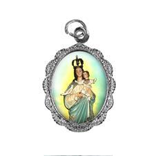 Imagem - Medalha de alumínio - Nossa Senhora da Boa Esperança cód: MABE-02