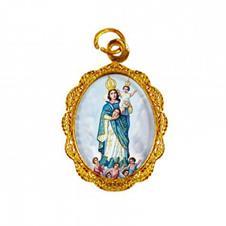 Medalha de Alumínio - Nossa Senhora da Cabeça