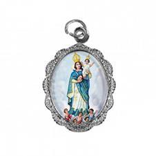 Imagem - Medalha de Alumínio - Nossa Senhora da Cabeça - 13776366-20
