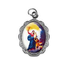 Imagem - Medalha de alumínio - Nossa Senhora da Defesa cód: MADF-02