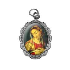 Imagem - Medalha de alumínio - Nossa Senhora da Divina Providência - Mod. 1 cód: MADV-02