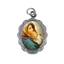 Imagem - Medalha de alumínio - Nossa Senhora da Divina Providência - Mod .2 cód: MADV-03