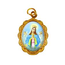 Imagem - Medalha de alumínio - Nossa Senhora da Guia cód: 12045121-19