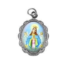 Imagem - Medalha de alumínio - Nossa Senhora da Guia cód: 12045121-20