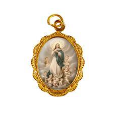 Imagem - Medalha de Alumínio - Nossa Senhora da Imaculada Conceição - Mod. 02 - 13564220-19