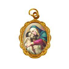 Medalha de Alumínio - Nossa Senhora da Piedade