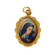 Medalha de alumínio - Nossa Senhora das Dores - Mod. 1