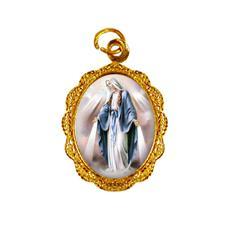Imagem - Medalha de alumínio - Nossa Senhora das Graças - Mod. 1 - 13615125-19
