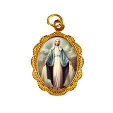 Imagem - Medalha de alumínio - Nossa Senhora das Graças - Mod. 3 cód: 11171871