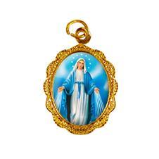Imagem - Medalha de Alumínio - Nossa Senhora das Graças - Mod. 2 - 13921454-19