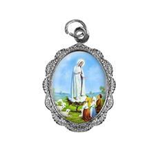 Imagem - Medalha de alumínio - Nossa Senhora de Fátima - Mod. 1 cód: 15547277-20