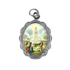 Imagem - Medalha de alumínio - Nossa Senhora de Fátima - Mod. 2 - 18051390-20