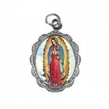 Medalha de Alumínio - Nossa Senhora da Guadalupe - Mod. 02