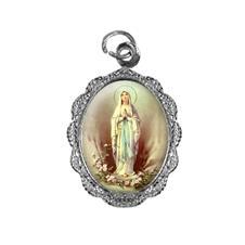 Imagem - Medalha de alumínio - Nossa Senhora de Lourdes cód: 18566419-20