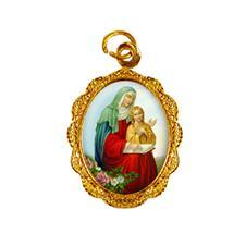 Imagem - Medalha de alumínio - Nossa Senhora Santana cód: 16079976-19