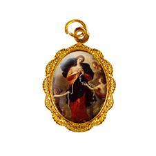 Imagem - Medalha de alumínio - Nossa Senhora Desatadora dos Nós cód: MADN-02