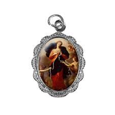 Imagem - Medalha de alumínio - Nossa Senhora Desatadora dos Nós cód: MADN-01