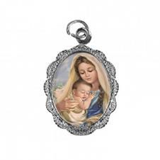 Medalha de Alumínio - Nossa Senhora do Amparo - Mod. 01