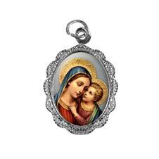 Medalha de alumínio - Nossa Senhora do Bom Conselho