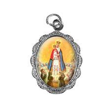 Imagem - Medalha de alumínio - Nossa Senhora do Bom Parto cód: MABPT-02