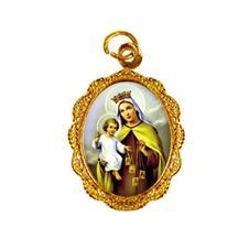Imagem - Medalha de Alumínio - Nossa Senhora do Carmo - MASCM-01