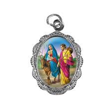 Medalha de alumínio - Nossa Senhora do Desterro