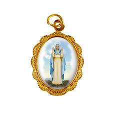 Medalha de alumínio - Nossa Senhora do Equilíbrio