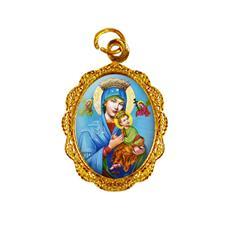 Medalha de alumínio - Nossa Senhora do Perpétuo Socorro - Mod. 1