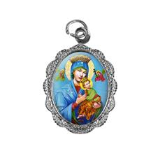 Imagem - Medalha de Alumínio - Nossa Senhora do Perpétuo Socorro - Mod. 1 cód: 18505152-20