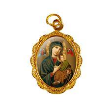Imagem - Medalha de alumínio - Nossa Senhora do Perpétuo Socorro - Mod. 2 cód: 15079292-19