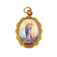 Imagem - Medalha de alumínio - Nossa Senhora dos Navegantes cód: 19148824-19