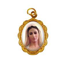 Imagem - Medalha de alumínio - Nossa Senhora Rainha da Paz - Mod. 1 cód: 19881003-19