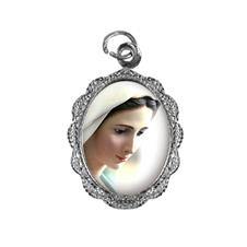 Medalha de alumínio - Nossa Senhora Rainha da Paz - Mod. 2