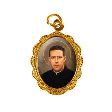 Imagem - Medalha de alumínio - Padre Hurtado cód: 16169145-19