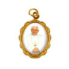 Imagem - Medalha de Alumínio - Papa Bento XVI - Mod. 1 cód: 14839156-19