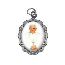 Medalha de Alumínio - Papa Bento XVI - Mod. 1
