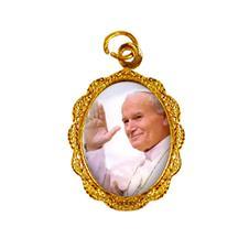 Medalha de Alumínio - Papa João Paulo II - Mod. 1